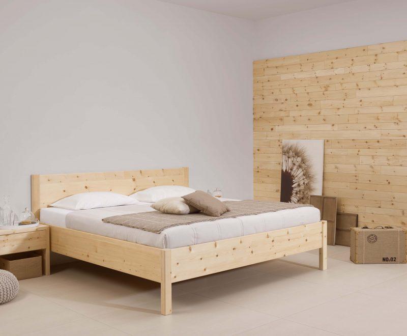 Metallfreies Zirbenbett Natura von Betten Impulse in Bad Aibling