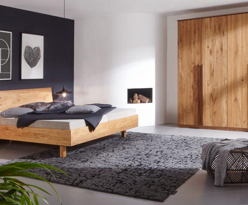 Massivholzbett Tenso Wildeiche von Betten Impulse in Bad Aibling