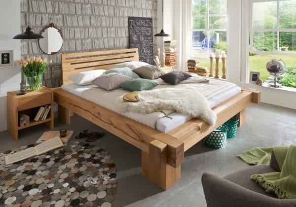 Betten - verschiedene Holzarten