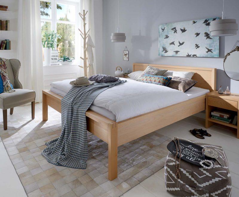 Massivholzbett Nova Buche von RELAX - Betten Impulse in Bad Aibling