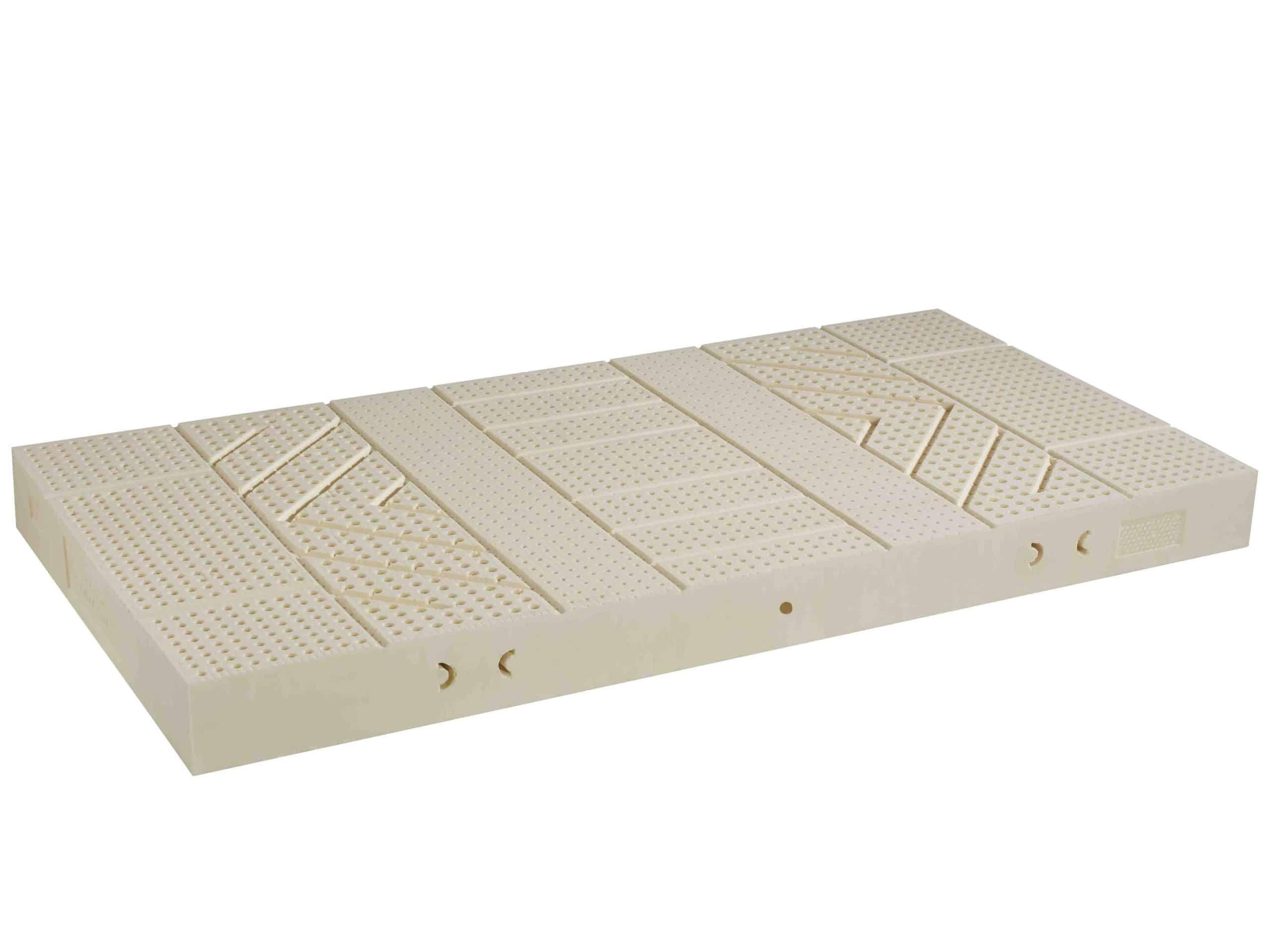 Sieben-Zonen-Matratze aus Naturlatex für ideale Körperanpassung von Betten Impulse in Bad Aibling