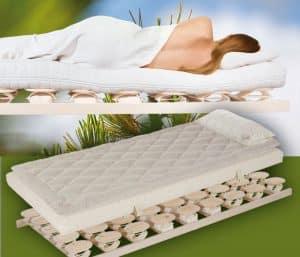 Relax 2000 Lattenrost mit Matratze und Auflage