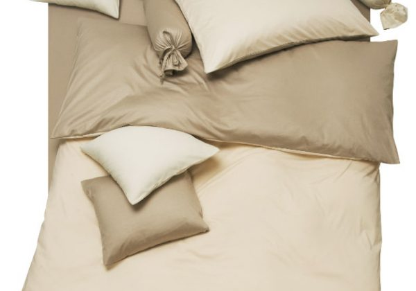 Bettwäsche in reiner Baumwolle