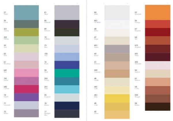 Farben für Maco Satin Bettwäsche
