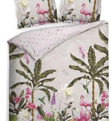 Heckett Lane Wendebettwäsche Flamingo Seite 1