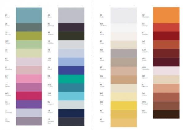 mögliche Farben für Spannbettlaken Lorena Maco Satin